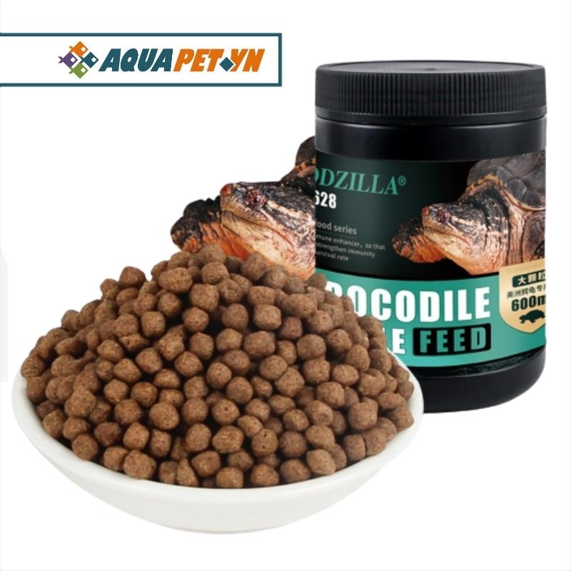 Thức ăn dành cho các loại rùa SNAPPING size hạt 3 - 5mm(Common, Aligator, Florida)