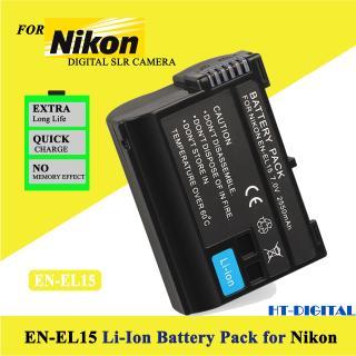Pin máy ảnh Nikon EN-EL15 2700mAh cho Nikon D7000 D7100 D800 D800E D600 D610 D810 D7200 V1 D500 thumbnail