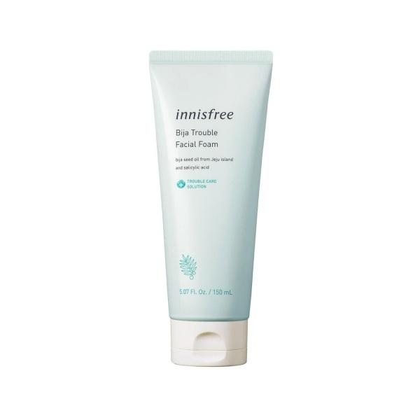 Sữa Rửa Mặt INNISFREE Dành Cho Da Mụn - INNISFREE Bija Trouble Facial Foam 150ml (HÀNG CHÍNH HÃNG)