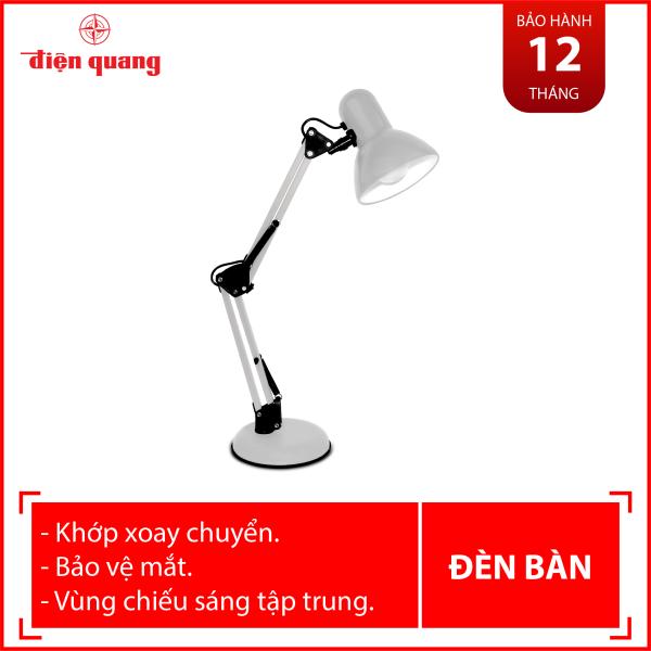 Đèn bàn bảo vệ thị lực Điện Quang ĐQ DKL14 G BW (màu xám, bóng warmwhite)