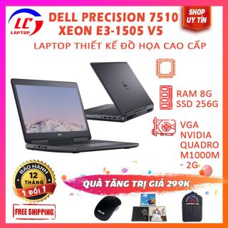 Laptop Đồ Họa Giá Rẻ, Máy Trạm Đồ Họa Dell Precision 7510, Xeon E3 1505 V5, Card Rời VGA Nvidia Quadro M2000M, Màn 15.6 FullHD IPS, LaptopLC298 thumbnail