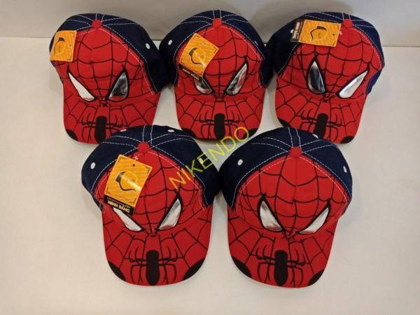 Nón Kết - Mũ lưỡi trai cho bé hình Siêu Nhân Người Nhện ( Spider man)