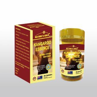Viên uống bổ thận tráng dương tăng cường sinh lý - Kangaroo Essence For Men 6000mg + 1000 OYSTER (Hàu) + Zn (Kẽm) - 30v Hộp thumbnail