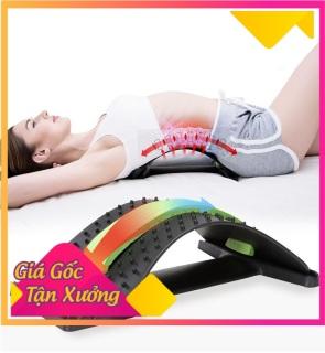 Dụng cụ hỗ trợ nắn chỉnh cột sống lưng giúp giảm đau lưng, giảm thoái hóa đốt sống, điều trị thoát vị đĩa đệm - CẢI THIỆN VÓC DÁNG CHO MỌI NGƯỜI thumbnail