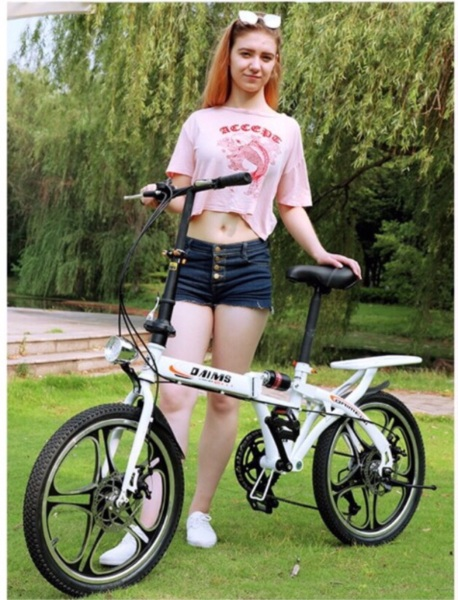 Mua Xe đạp gấp 20 icnh, xe đạp số siêu nhẹ