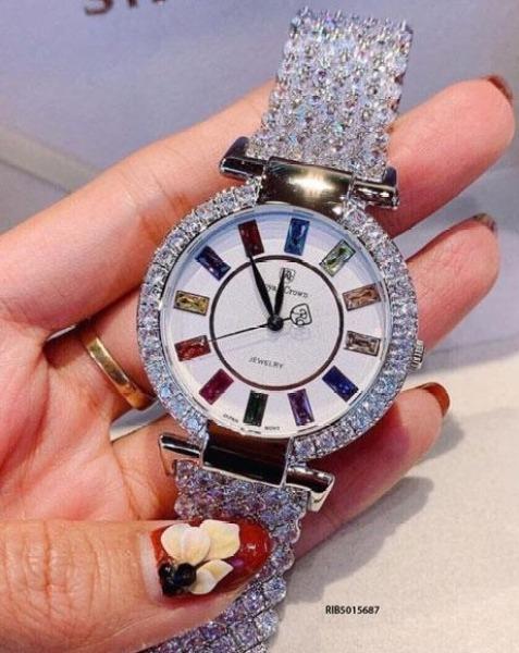 [HOT] Đồng hồ nữ Royal Crown 4604 Rose Gold dây đính đá mặt kính chống nước đẳng cấp cho phái đẹp bán chạy