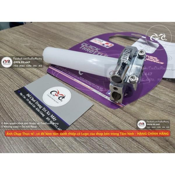 Mua Cùm Tăng tốc UMA RACING loại 2 dây ga hàng chính hãng - giúp rút ngắn hành trình vặn ga - EX150 EX135 ..V.V