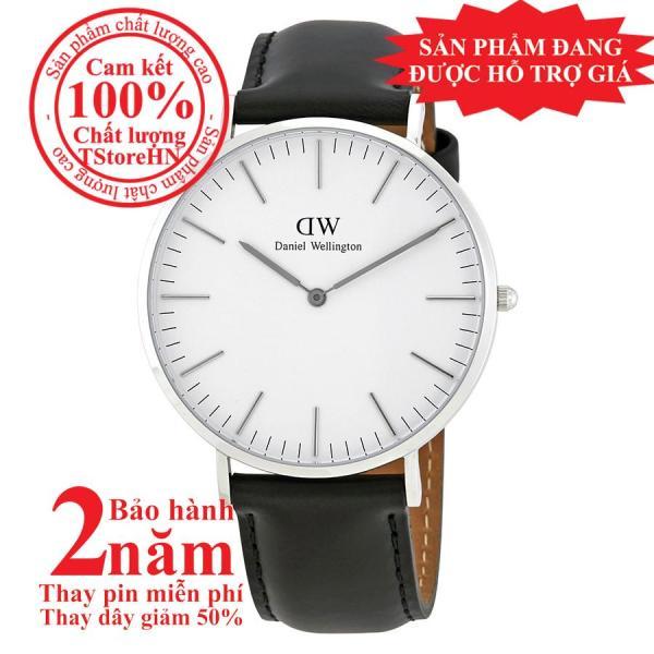 Đồng hồ thời trang nữ D.W Classic Sheffield - 36mm - Màu Bạc (Silver) DW00100053