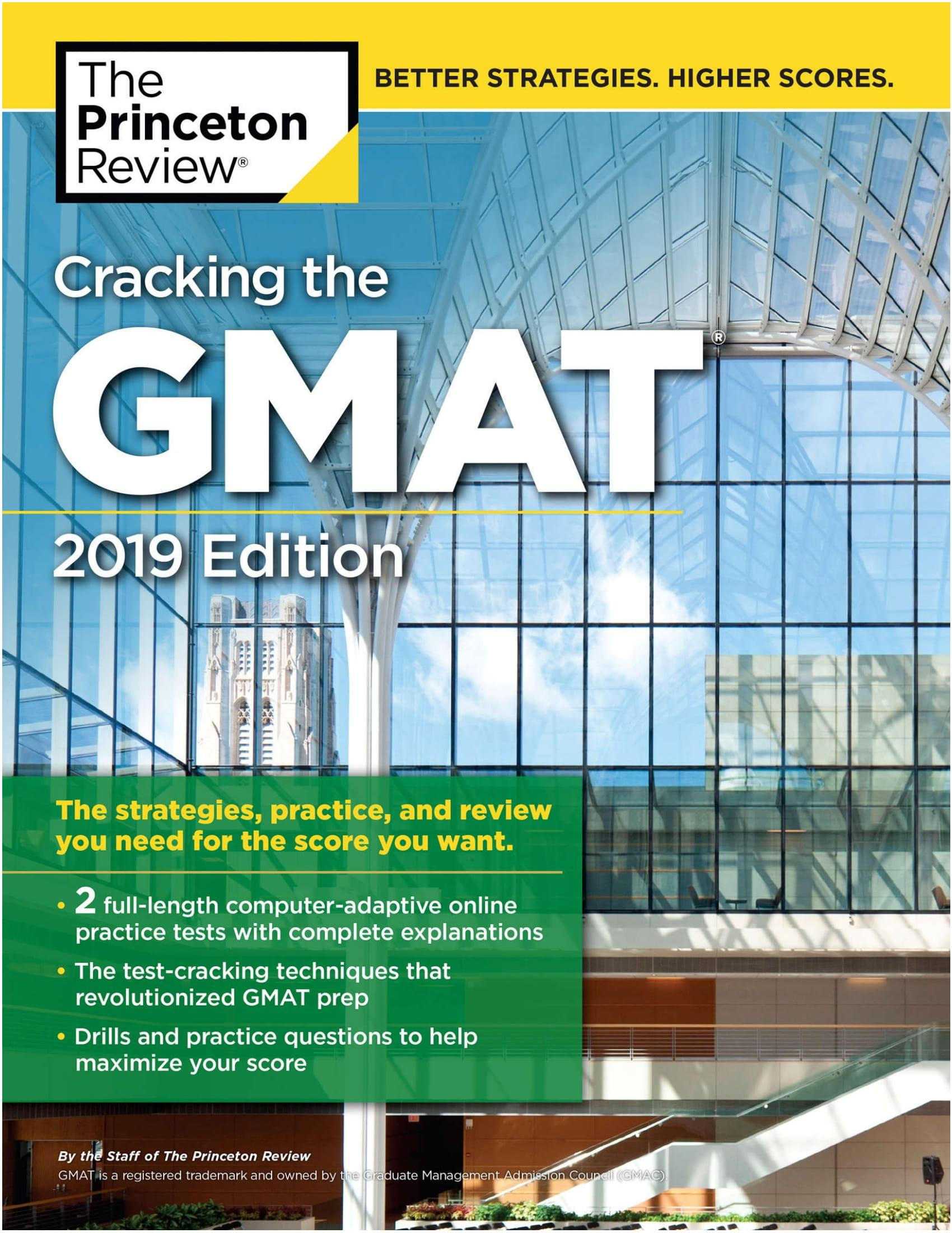 Mua Cracking the GMAT with 2 Computer-Adaptive Practice Tests, 2019 Edition