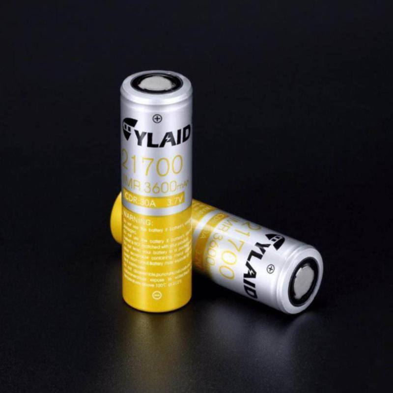 Pin sạc 21700 Cylaid 3600mAh xả 30A cho Mech and Boxes mods