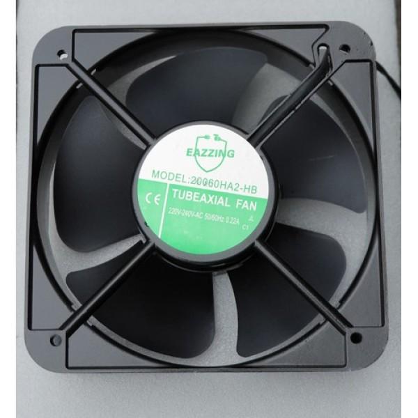 Quạt hút tủ điện 220v 20x20x6cm - 20060
