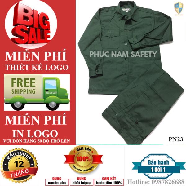 Quần áo bảo hộ lao động PN23 - màu xanh KT3, quần áo bảo hộ lao động, quần áo bảo hộ tốt, quần áo bảo hộ chất lượng, quần áo bảo hộ giá rẻ, Phuc Nam Safety