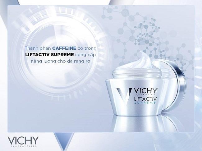VICHY- Kem Dưỡng Chống Nhăn Và Săn Chắc Da Ban Ngày Vichy Liftactiv Supreme 15ml chính hãng