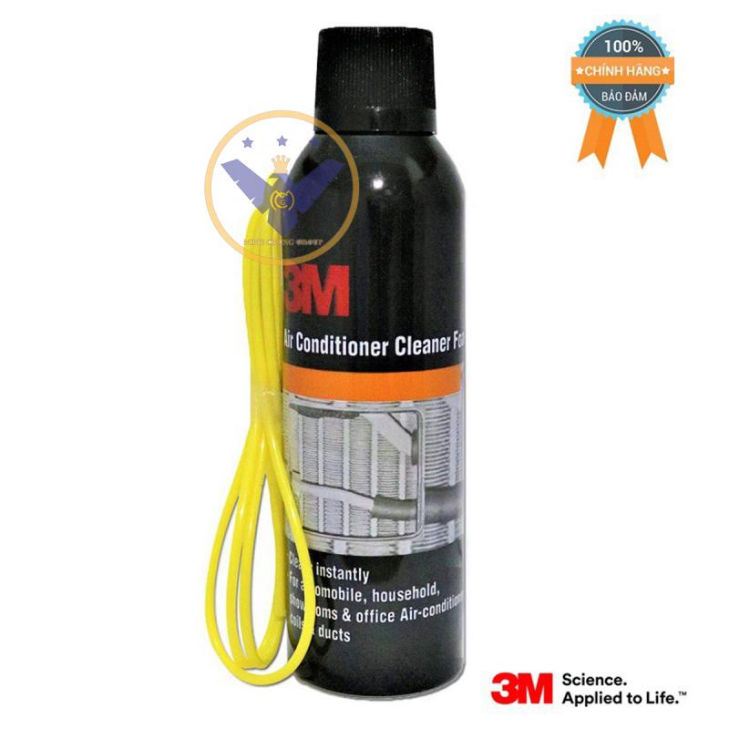 Bình xịt khử mùi và vệ sinh dàn lạnh điều hòa ô tô 3M- Air Conditioner Cleaner Foam 250ml