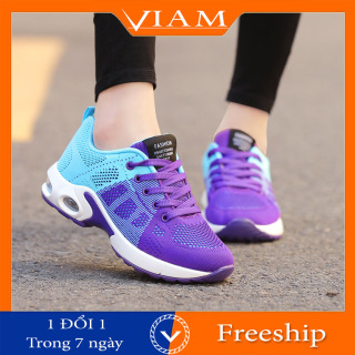 Giày Thể Thao Nữ Chạy Bộ Siêu Nhẹ Thoáng Khí Cực Đẹp VIAM ES105 thumbnail