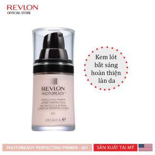 Kem lót bắt sáng hoàn thiện làn da Revlon PhotoReady Perfecting Primer 27ml (Hạn sử dụng 1 năm) thumbnail