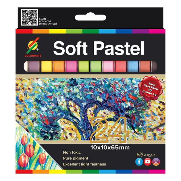 Mã Khuyến Mại tại Lazada cho Hộp Giấy 24 Cây Soft Pastel Colormate