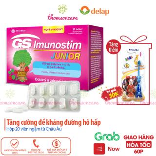 GS Imunostim Junior - Viên nhai tăng cường sức đề kháng cho trẻ thumbnail