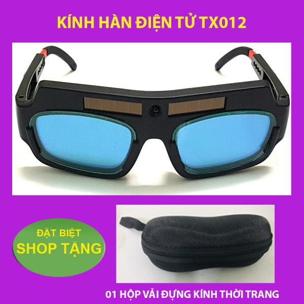 Kính hàn điện tử TX012 - TẶNG hộp đựng kính chuyên dụng THỜI TRANG