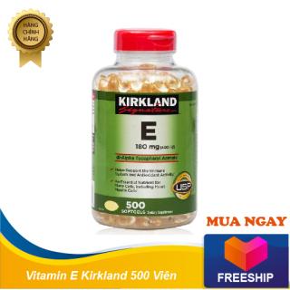 Vitamin E 500 viên Kirkland của Mỹ - Đẹp da, chống lão hóa thumbnail