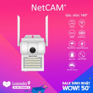 Camera IP Wifi NetCAM WL140 1080P Góc Nhìn Rộng 140 , Có Cảnh Báo Chuyển Động thumbnail