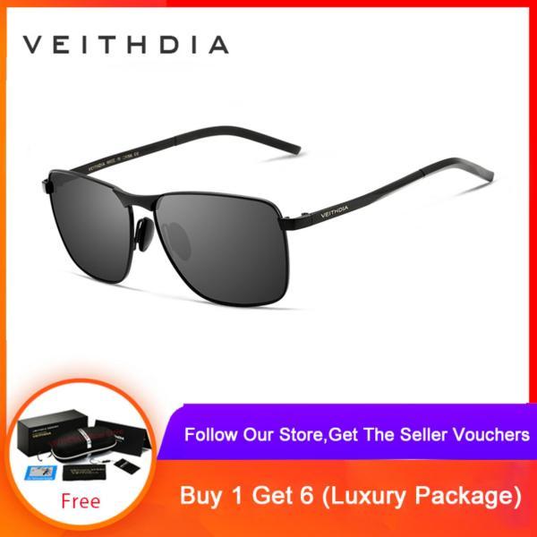 Giá bán Kính râm nam phân cực form trẻ trung chất liệu chống chói chống lóa mắt thời trang vintage VEITHDIA
