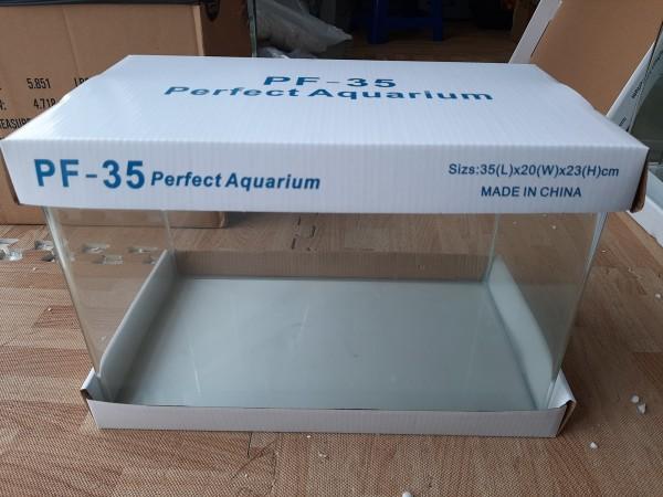 Bể cá mini kính đúc 35x20x23 cm 4mm