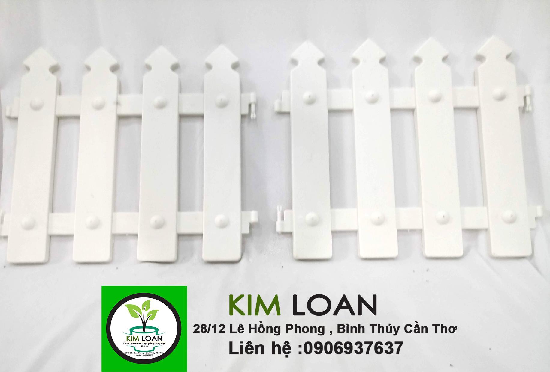 Combo 10 hàng rào nhựa chóp nhọn 30 x 30 x 1 cm