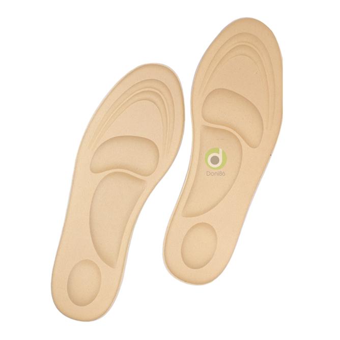 Lót giày 4D cực êm chân có tác dụng chống thốn gót chân và thấm hút mồ hôi giúp chân luôn khô thoáng trong mùa hè nóng nực, lót giày có size lớn cho nam nữ PK36 giá rẻ