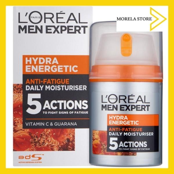 [LOreal] Kem dưỡng ẩm 5 tác động chống mệt mỏi LOreal Men Expert Hydra Energetic, Anti-Fatigue Moisturiser 50 ml