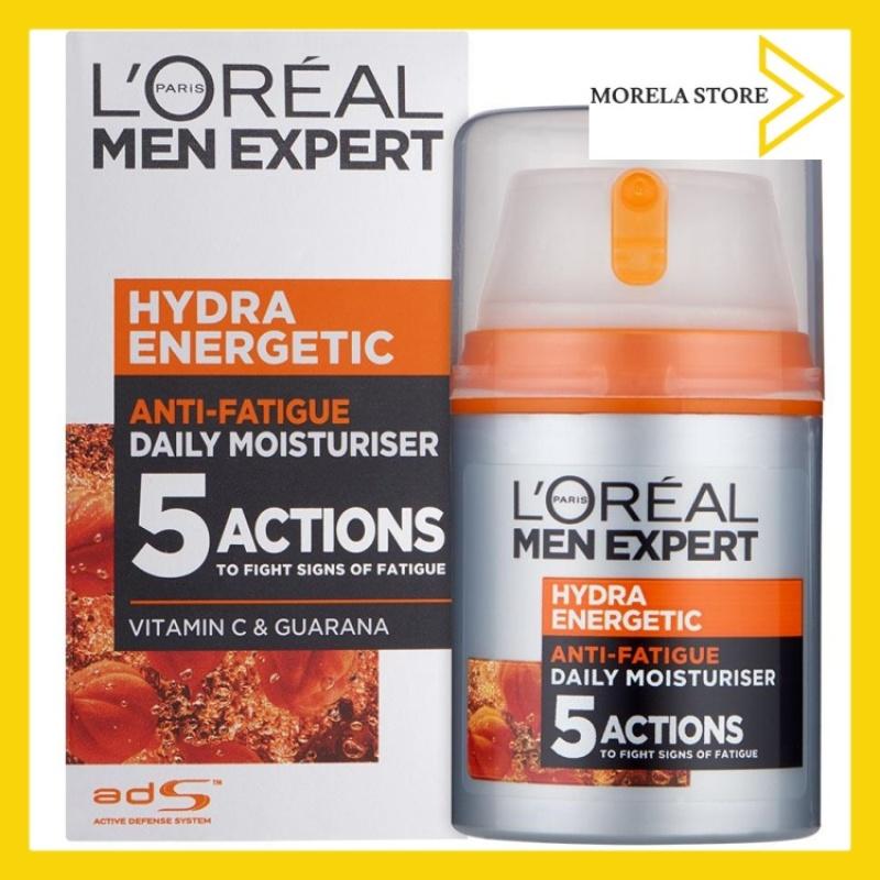 [LOreal] Kem dưỡng ẩm 5 tác động chống mệt mỏi LOreal Men Expert Hydra Energetic, Anti-Fatigue Moisturiser 50 ml giá rẻ