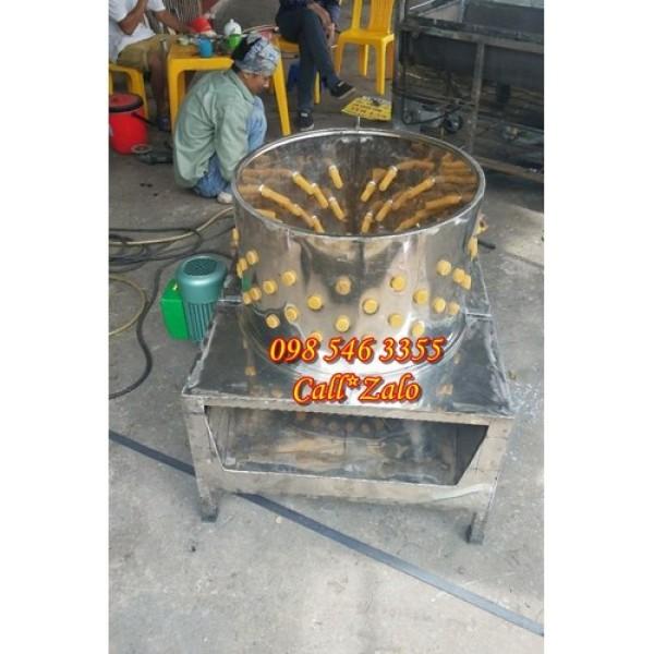 máy vặt lông gà, vịt bằng inox đường kính 55cm giá rẻ, đổi hàng nếu sản phẩm bị lỗi