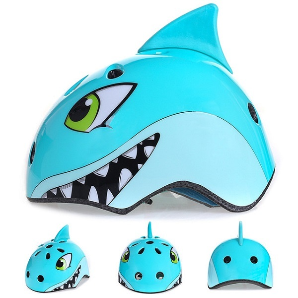 Giá bán Nón bảo hiểm khủng long, cá mập trẻ em chất lượng cao, bền đẹp, có khả năng chịu được các va đập mạnh, giúp bảo vệ an toàn cho bé.