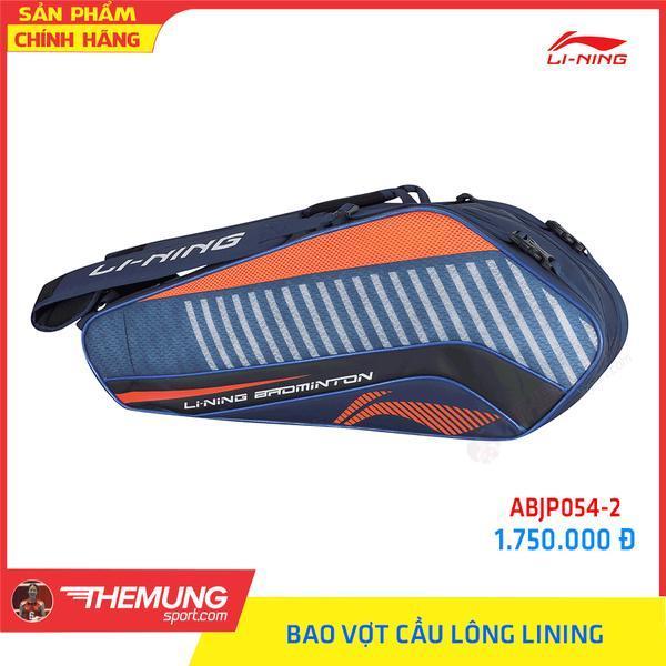 Bảng giá Bao vợt cầu lông LiNing ABJP054-2 (Cam/Xanh Tím)