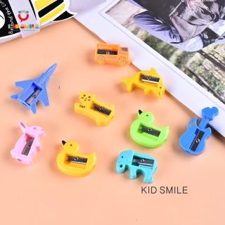 Đồ dùng học tập trẻ em gọt bút chì các hình con vật, phương tiện giao thông. Thiết kế ngộ nghĩnh, dễ thương chất liệu nhựa bền đẹp. 2