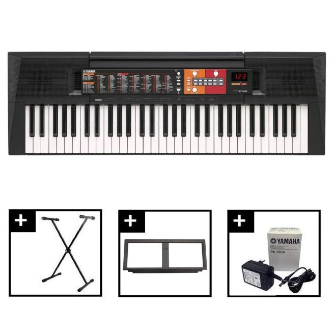 RẺ VÔ ĐỊCH] ĐÀN ORGAN YAMAHA PSR-F51, cho người bắt đầu học piano, organ