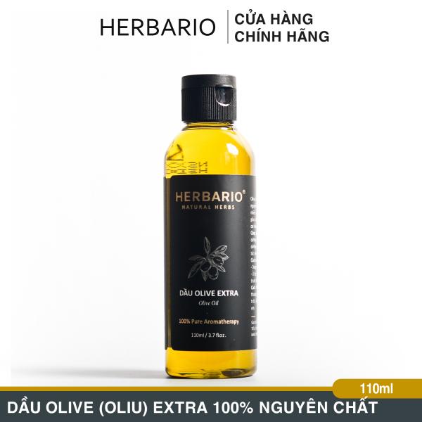 Dầu Olive Extra Herbario 110ml Nguyên Chất