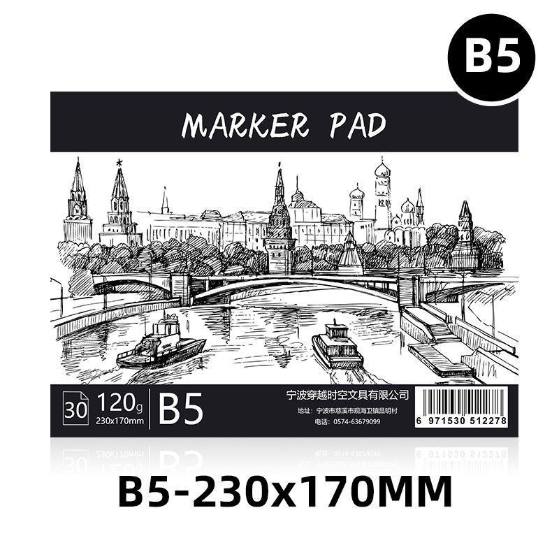 Mua Giấy Vẽ Màu Marker, Màu Dạ, Màu Touch Liit,  30 Trang