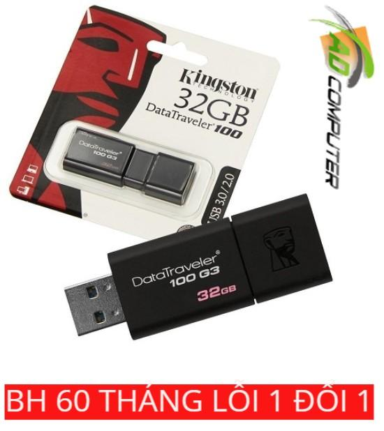 Voucher Khuyến Mãi USB KINGSTON 32G 3.0 DT100G3