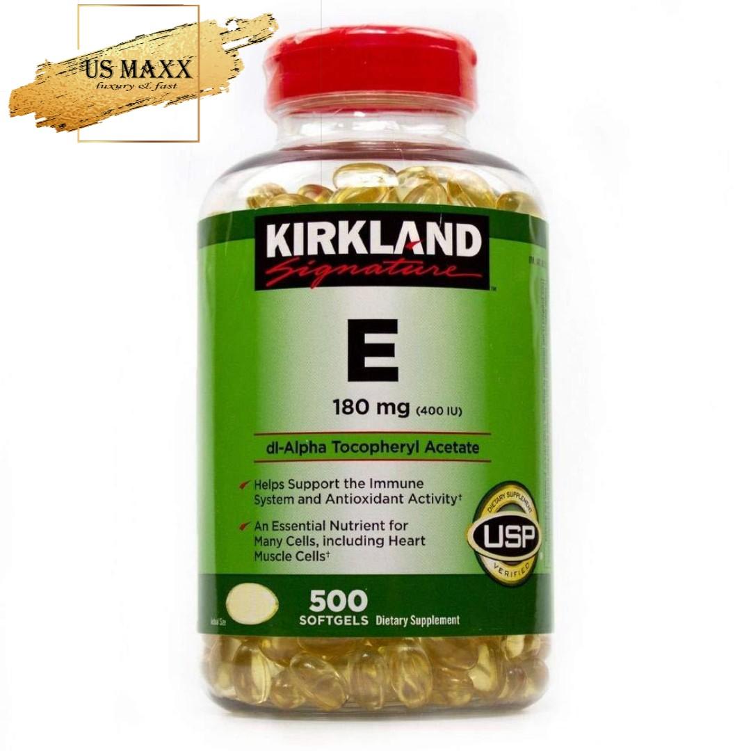 Vitamin E kirkland 500v