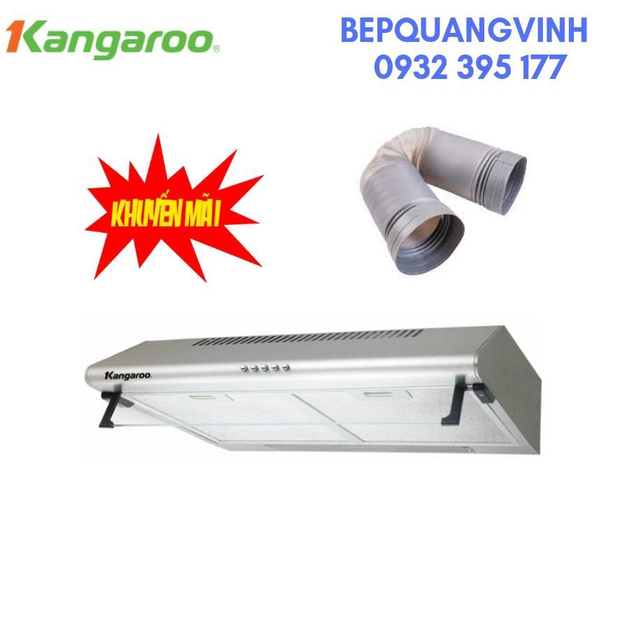 Máy hút mùi Kangaroo KG532 tặng ống thoát khí giảm ồn