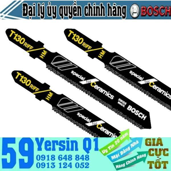 Bộ 3 lưỡi cưa lọng Ceramic T 130 RIFF - 2608633104