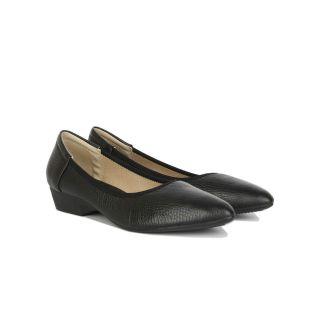 [HCM]Giày Bít Xuồng Hạnh Dung HD2954AY ( Màu Đen - Vàng - Kem ) thumbnail
