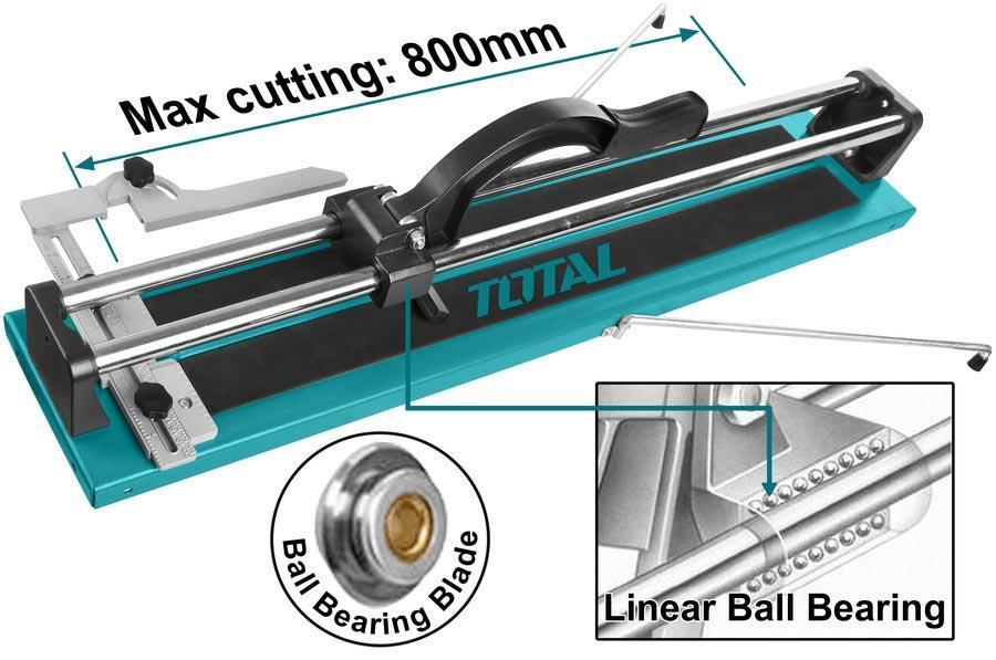 800mm Bàn cắt gạch đẩy tay Total THT578004