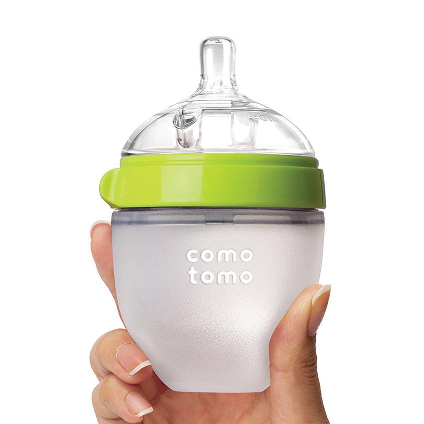 Bình sữa Comotomo silicone y tế cao cấp 150ml xuất...