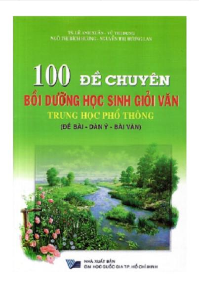 Mua 100 Đề Chuyên Bồi Dưỡng Học Sinh Giỏi Văn THPT