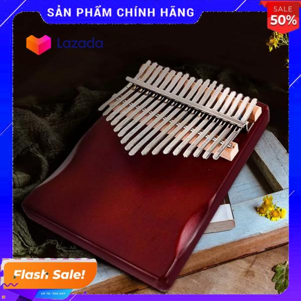 Đàn kalimba 17 phím tặng stick màu và búa chỉnh âm cho bạn mới học GECKO010