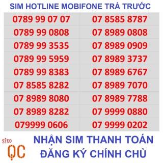 [HCM][Trả góp 0%]Sim trả trước hotline mobifone-L1CK thumbnail