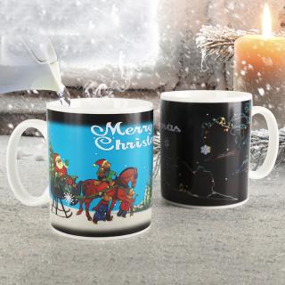 Ly đổi màu giáng sinh merry christmas, Cốc đổi màu phong cách Noel Giáng Sinh thumbnail