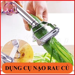 Nạo sợi rau 3 in 1 inox 304 - Đa dạng, nhiều công dụng như gọt rau củ quả, bào nhỏ cà rốt thumbnail
